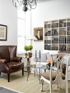 Click through for eight **fabulous** ideas for designing around an Ikea Expedit (the white shelf unit)