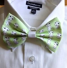 Kodama Hair Bow and Bow Tie | 47 Insanely Adorable Studio Ghibli Items You Need Immediately