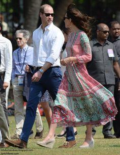 Royal Tour of India. April 10, 2016.