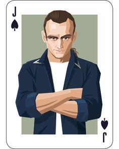 Leo Johnson is the Jack of Spades. Illustration by Lenike Sundström.