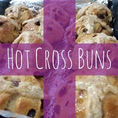 Hot Cross Buns, Bun Recipe, Fun Activities, Cookies, Breakfast, Recipes, Food, Short I Activities, Breakfast Cafe