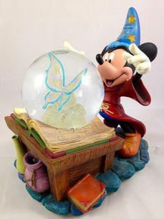 Disney Mickey Mouse Snow Globe Sorcerer's Apprentice Rare in Collectibles, Disneyana, Contemporary (1968-Now) | eBay