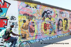 Berlin, East Side Gallery - www.worldlytreasury.com