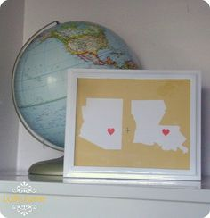 Lolly Jane- Craft tutorials & DIY home decor: State pride. I would do Virginia and Louisiana =) Craft Tutorials, Craft Projects, House Projects, Wood Projects, Dorm Room Crafts, Map Art, State Art, Diy Tutorial, Gift Guide