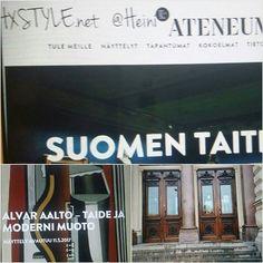 ATENEUMIN TAIDEMUSEO...Kuvataiteille omistettu ja on Osa Kansallisgalleriaa. Theodor Höijerin piirustusten mukaan rakennettu ja valmistunut 1887. PERUSNÄYTTELY 1 krss ja vaihtuvia Näyttelyitä Ihana, kaunis&Kiehtova Rakennus. SUOSITTELEN. Nähdään...HYMY @ateneummuseum #kulttuuri #taide #museo #taidemuseo #ajankohtaista #avautuva #alvaraalto #historia #arkkitehtuuri #desig #suomalainen #suomi100 ❤☺
