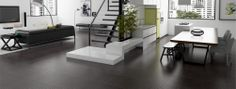 Pietra Nero Collection - non slip thorough body porcelain floor tile
