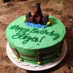 Horse Cake, Birthday cake