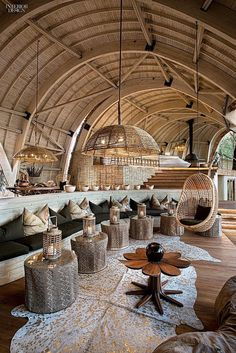 Where the Elephants Roam: Sandibe Safari Lodge by Fox Browne and Michaelis Boyd Projects Interior Design Interior Design Minimalist, Restaurant Interior Design, Interior Design Tips, Interior Inspiration, Interior And Exterior, Design Ideas, Interior Decorating, Design Projects, Decorating Tips