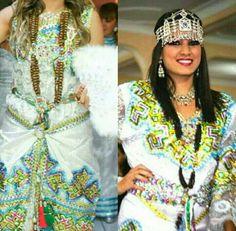 Mix entre une tenue Kabyle et un collier ( skhab ou 9ranfel)   #TraditionalAlgerianOutfits #TraditionalAlgerianDresses #AlgerianFashion #Tradition #Fashion #Mode #HauteCouture #Costume  #ModeAlgerienne #Algeria #Algerie #Djazair #dzair #dz الجزائر# #unesco #patrimoine #Culture #Arab #3arab #Arabe #Amazigh #Berbere #Imazighen #World #burnous #karakou #badroun #blouza #chedda #robekabyle #fergani #tasdira #caftanalgerien #fetla #gold #or #bijoux #jewelry #الملحفة_الشاوية + #الحلي_الجزائري…