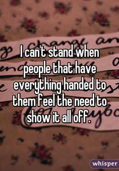quotes on hard to congratulate people handed everything - Google Search