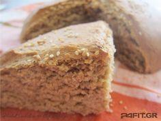 Ψωμί από Ζεά Greek Cooking, Bread And Pastries, Banana Bread, Food And Drink, Pie, Desserts, Greek Recipes, Breads, Storage
