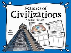 This resource includes several activities to complete your ancient history unit on the features of civilizations. ($)