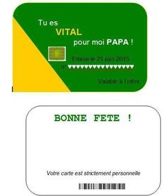 Papa on t'aime tu es vital pour nous Emis le 16 juin 2019 Love You Dad, My Love, Carte Vitale, Dad Birthday Card, Dads, Parents, Lisa, First Mothers Day Gifts, Gifts