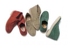 Supreme X Clarks Desert Shoes