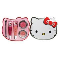 Hello Kitty lipbalms in a tin box, perfect xmas gift