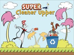 The Cat in the Hat Knows a Lot About That . Super Cleaner Upper | PBS KIDS
