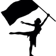 colorguard clipart silhouette flag clipartfest sports rh pinterest com animated color guard clip art color guard logo clip art