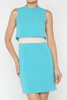 Jade tunic  over-lay dress www.dollyandbella.com Fashion Dress