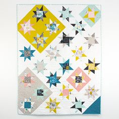 Star Bright Quilt by Michelle Engel Bencsko {coming soon} Quilter's Cotton from Make It Sew Projects for Cloud9 Fabrics