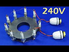 free nights electricity Generator For Home 240V New Electric 9V to 220V Magnet Experiment Energy - YouTube