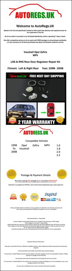 Opel zafira 1998 2006