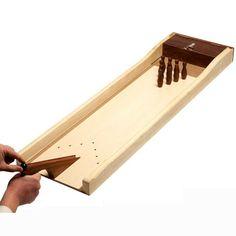 Bowling Mango : Mini Bowling en bois. Dimensions : 110 X 35 cm. Coffret Palissandre. http://www.supreme.fr/jeux/jeux/jeux-bois/bowling-mango.html                                                                                                                                                                                 More