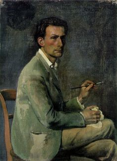 'Self-portrait', 1940 - Balthus
