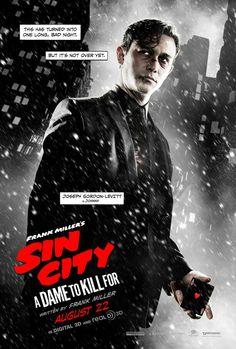 Joseph Gordon-Levitt in Sin City A Dame to Kill For
