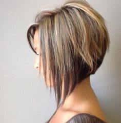 Probably my favorite, could let my natural blonde on the top and a darker purple or burgundy where that darker brown is