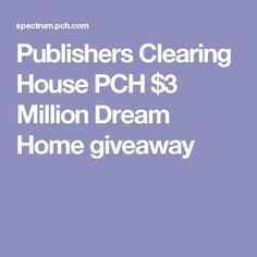 publishers clearing house pch 3 million dream home giveaway i jose carlos gomez claim ownership of pch 3 million dream home - PIPicStats