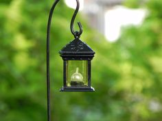 Miniature Lantern for fairy garden accessories - one square black by TheLittleHedgerow on Etsy https://www.etsy.com/listing/153676475/miniature-lantern-for-fairy-garden