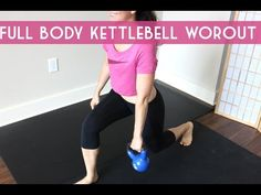 24 minute kettlebell sculpting workout. Post partum friendly