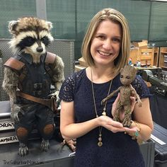 Behind the scenes facts from the set of Guardians of the Galaxy Vol 2. Plus Rocket & Baby Groot!