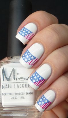 Omg, obsessed. I might have to splurge on a manicure. I'm already planning a festive July 4th celebration.