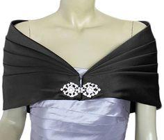 Alivila.Y Fashion Women Formal Party Shawl 01-Black Satin Plus Size Alivila.Y Fashion http://www.amazon.com/dp/B019804I5U/ref=cm_sw_r_pi_dp_vfu9wb1GRP3DB   10 each
