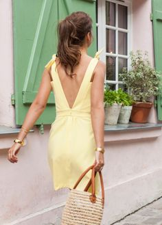 Apoluze | Robe Téa Simple Dresses, Nice Dresses, Short Dresses, Summer Dresses, Wrap Dress, Dress Up, Funky Fashion, Couture, Outfit Goals