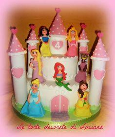 le torte decorate di luciana princess cake