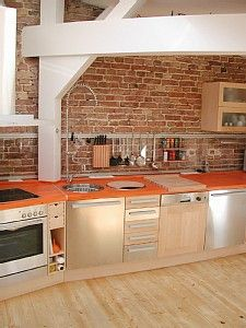 LOVE this kitchen! Berlin, Germany #vacationretnal #homeaway