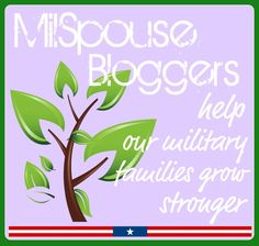 Military spouse bloggers help our military families grow stronger.