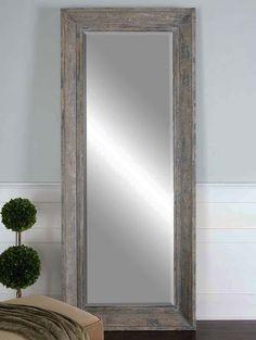 Multi Tone Tall Distressed Mirror Western Mirrors