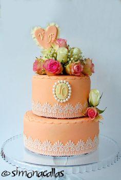 Wedding Anniversary Cake by simonacallas