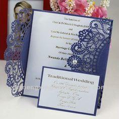 Royal Blue Wedding Invitations   Google Search