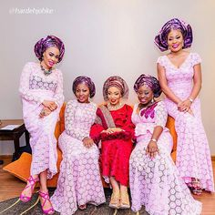 What word in the dictionary can we use to describe all theses tantalizing Aso-Ebi styles? One of our favorite…