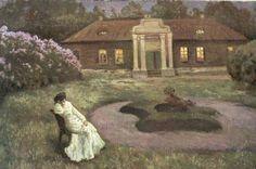 Sleepless Night (White Night) - Stanislav Zhukovsky 1903 Russian 1872-1944