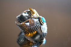 カスタムオーダー品〜〜 #HorizonBlue #handmadejewelry #silverjewelry #ordermade #japanmade #japan #jewelry #アメカジ #handmade #custommade #custom-made #eagle #feather #18金ヘッドイーグル #custom  #リング #ring #指輪 #turquoisering #turquoise #turquoisejewelry http://www.horizon-blue-ty.com/ #LFC #LFC代官山 #ロウリーコレクション #ナチュラルターコイズ #LFCジュエリー