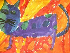 we heart art: Hot Dogs and Cool Cats