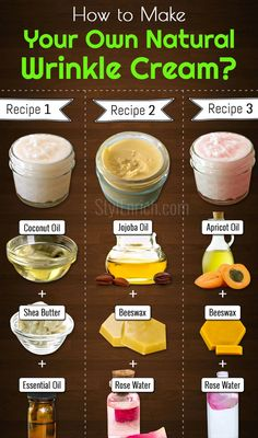 Wrinkle Cream : How to Make Natural Anti-Aging Cream at Home DIY Wrinkle Cream : How to Make Natural Anti-Aging Cream at Home? -DIY Wrinkle Cream : How to Make Natural Anti-Aging Cream at Home? Homemade Skin Care, Homemade Beauty Products, Diy Skin Care, Homemade Face Moisturizer, Natural Moisturizer For Face, Natural Face Masks, Face Scrub Homemade, All Natural Skin Care, Homemade Body Lotion