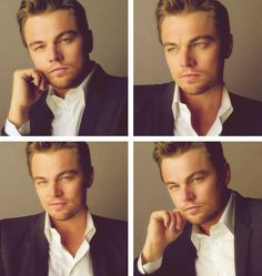 Leonardo Dicaprio<3 He deserves an Oscar already he's done so many great films he's so talented!