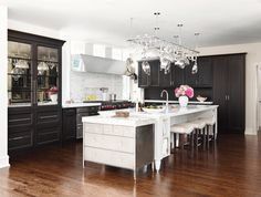 mirrored refrigerator doors! Traditional Home®