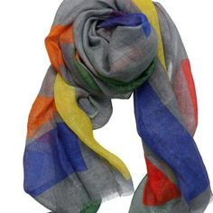 Luxurious silk scarves, hand crafted in Italy. Silk Scarves, Outfit Ideas, Crafts, Outfits, Collection, Grey, Fashion, Gray, Moda